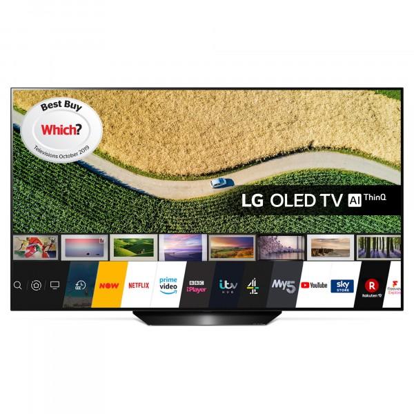 "LG OLED55B9PLA 55"" OLED 4K ULTRA HD TV - £1,099 With Code @ Hughes"