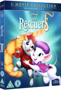 Disney's The Rescuers & The Rescuers Down Under [Blu-ray] 2 Movie Collection £8.19 delivered @ Hive