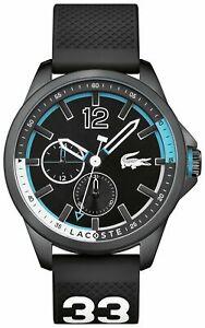 Lacoste Men's Capbreton Black Dial S/Steel Case Chronograph Analogue Watch £58.99 at Argos/ebay