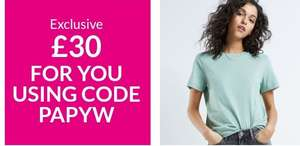 £30 off £60 spend at very.co.uk (New & Existing Customers)