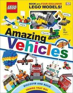 LEGO Amazing Vehicles book + enough bricks to build 4 mini models for £4.00 at Book People (postage £2.95 or free post when spending £25+)