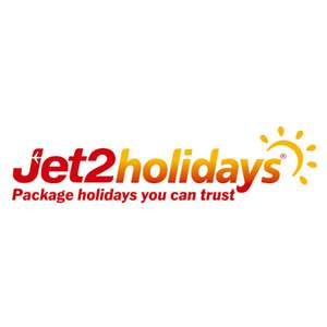 20% off Standard Seats Bookings at Jet2holidays