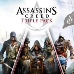 Playstation 4 Assassin's Creed Triple Pack: Black Flag, Unity, Syndicate - £19.99 @ UK PSN store