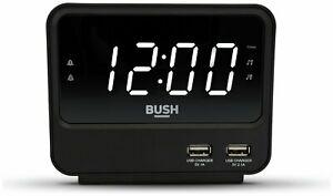 Bush FM USB Clock Radio - Black/grey, £11.47 delivered or Free Collection @ Argos/eBay