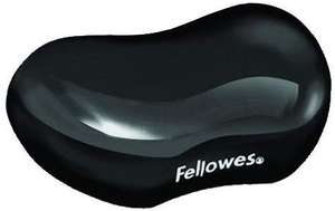 Fellowes Crystals Gel Flex Wrist Rest - Black £5.35 + £4.49 NP @ Amazon