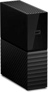 WD 6 TB My Book USB 3.0 Desktop Hard Drive with Password Protection and Auto Backup Software for £87.99 @ Amazon UK