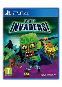 8-Bit Invaders (PS4) £7.39 @ Base