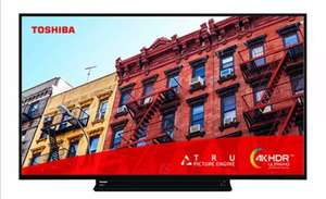 Manufacturer Refurbished Toshiba 55VL3A63DB 55 Inch Smart 4K Ultra HD LED TV Freeview Play £303.99 @ Electrical Deals Ebay