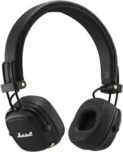 Marshall Major III Foldable Bluetooth Headphones - Black @ Amazon Germany for £61.37