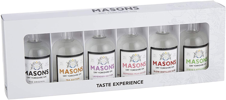 Masons 6 x 5 cl Taste Experience Gin Gift Set £17.99 @ Amazon Prime / £22.48 Non Prime