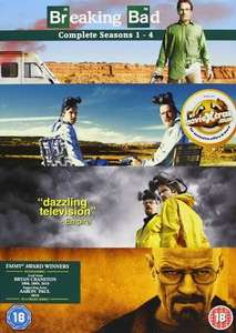 Breaking bad complete seasons 1-4 DVD - £2 at Poundland Great Barr