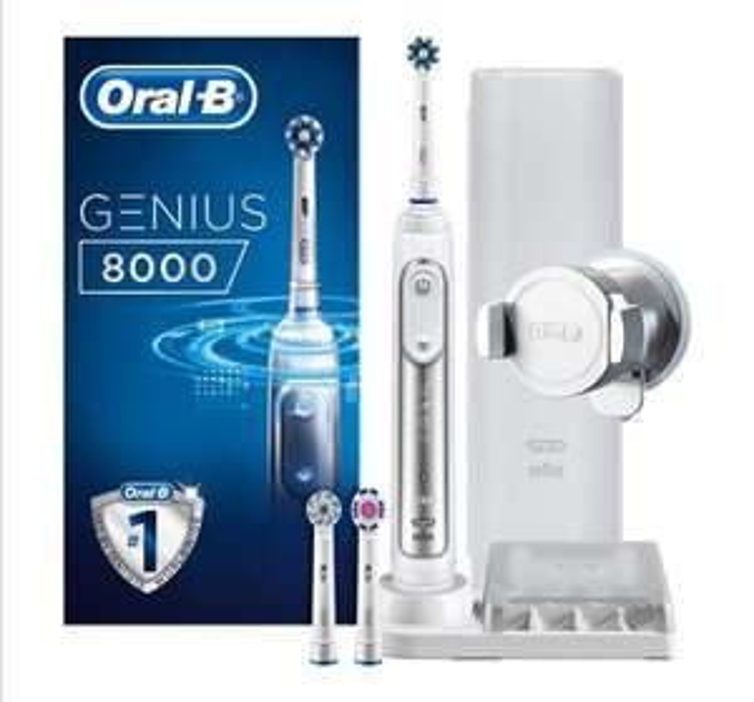 Oral-B Genius 8000 CrossAction Electric Toothbrush £89.99 at Amazon