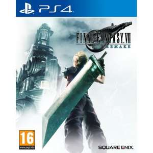 FINAL FANTASY VII: REMAKE PS4 £40.80 delivered with code at The Game Collection