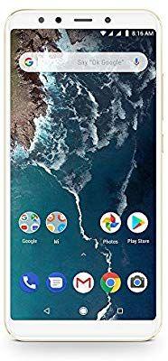 Xiaomi Mi A2 Smartphone 4GB/32 GB, Gold £115.95/£113 Fee Free @ Amazon Italy