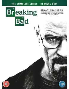 Breaking Bad Complete DVD Boxset with Digital Download £12.92 Delivered with Code at Zoom.co.uk