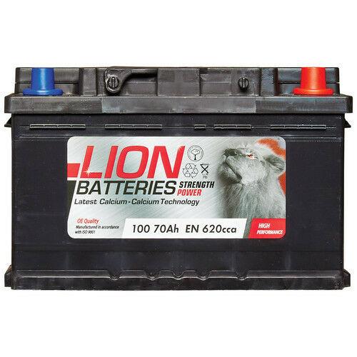 100 100 Car Battery 3 Years Warranty 70Ah 620cca 12V L278 x W175 x H175mm Lion £46.50 at carpartsbargains eBay