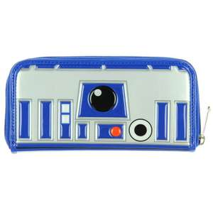 Loungefly Star Wars and Disney Purses, Backpacks & Handbags up to 60% off at Geekcore e.g. Loungefly x Star Wars R2-D2 Patent Purse £11.99