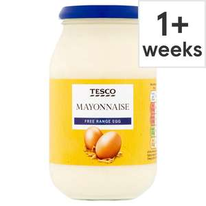 Tesco own Mayonnaise reduced to 60p instore, Whitchurch