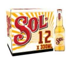 Sol Original Lager Beer Bottles 12 x 330ml £9 at Sainsbury's