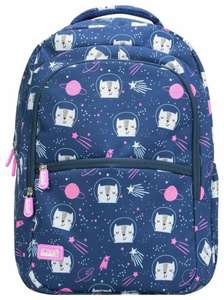 Soda Squad Space Cats/ Squad Summer 22L Backpack - Blue/Pink £13.19 at Argos - free collection