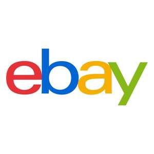 20% off selected sellers using code with a purchase of £15 or more / max £75 discount @ eBay