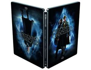 Fantastic Beasts: The Crimes of Grindelwald - Steelbook [4K Blu-ray] [2019] £15.40 @ Amazon Prime / £19.46 Non Prime