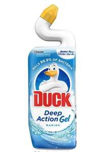 Toilet duck bleach marine 87p prime / £5.36 non prime , or 83p if 5% subscribe and save or 75p for 15% subscribe and save @ Amazon
