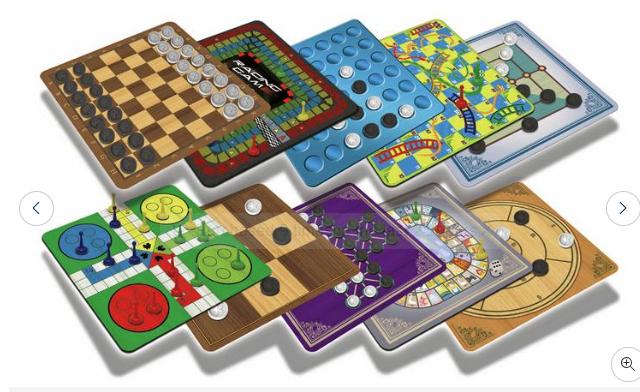 Chad Valley 40 Classic Board Games Bumper Set £8 @ Argos