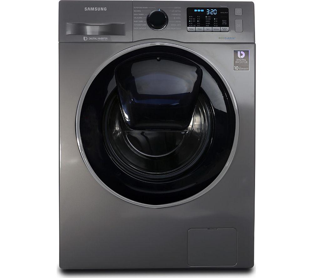 SAMSUNGAddWash WW90K5410UX/EU 9 kg 1400 Spin Washing Machine - Graphite £399 using code @ Currys PC World