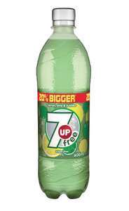 7up Free 600ml bottles are 49p or 3 for £1! @ Heron Foods Middleton