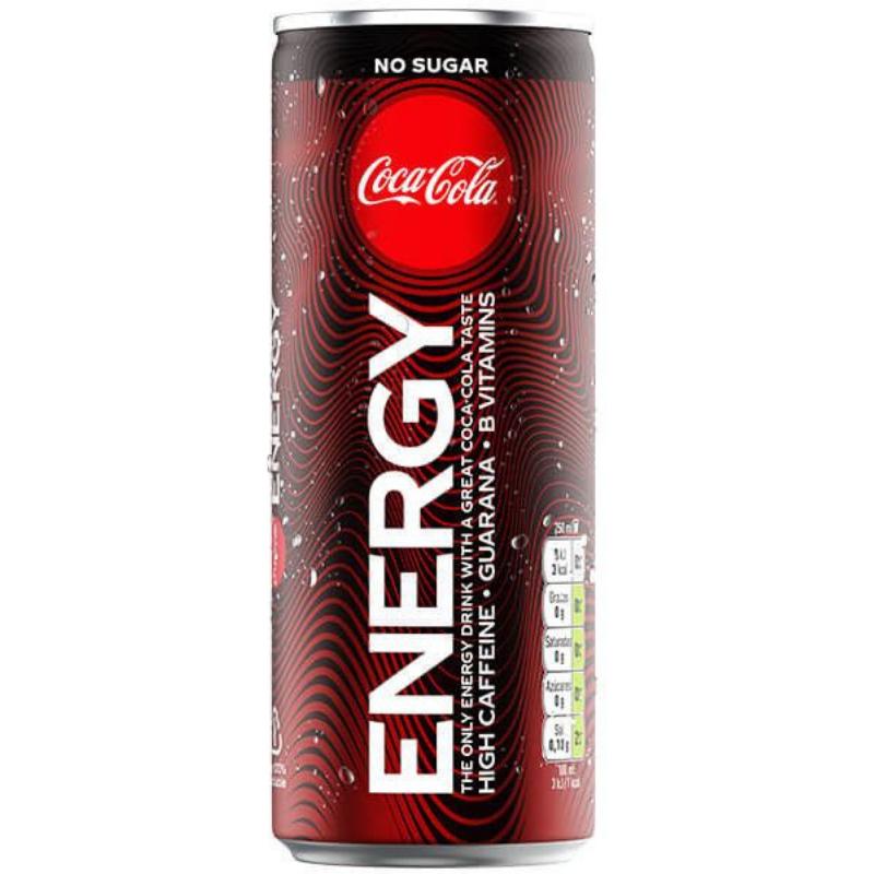 Coca Cola energy 29p each or 4 for a £1 Herons Gateshead