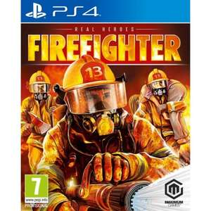 Real Heroes: Firefighter (PS4 pre-order released on Wednesday) £16.95 delivered at The Game Collection