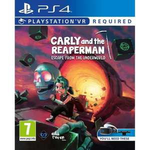 Carly and the Reaperman Escape from the Underworld PSVR £17.05 delivered with code at The Game Collection