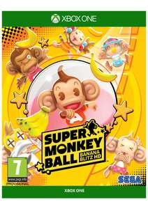Super Monkey Ball Banana Blitz HD + Stickers on Xbox One £17.85 @ Simply Games