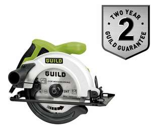 Guild 160mm Circular Saw - 1200W + 2 Year Warranty - £30 + Free Click and Collect @ Argos