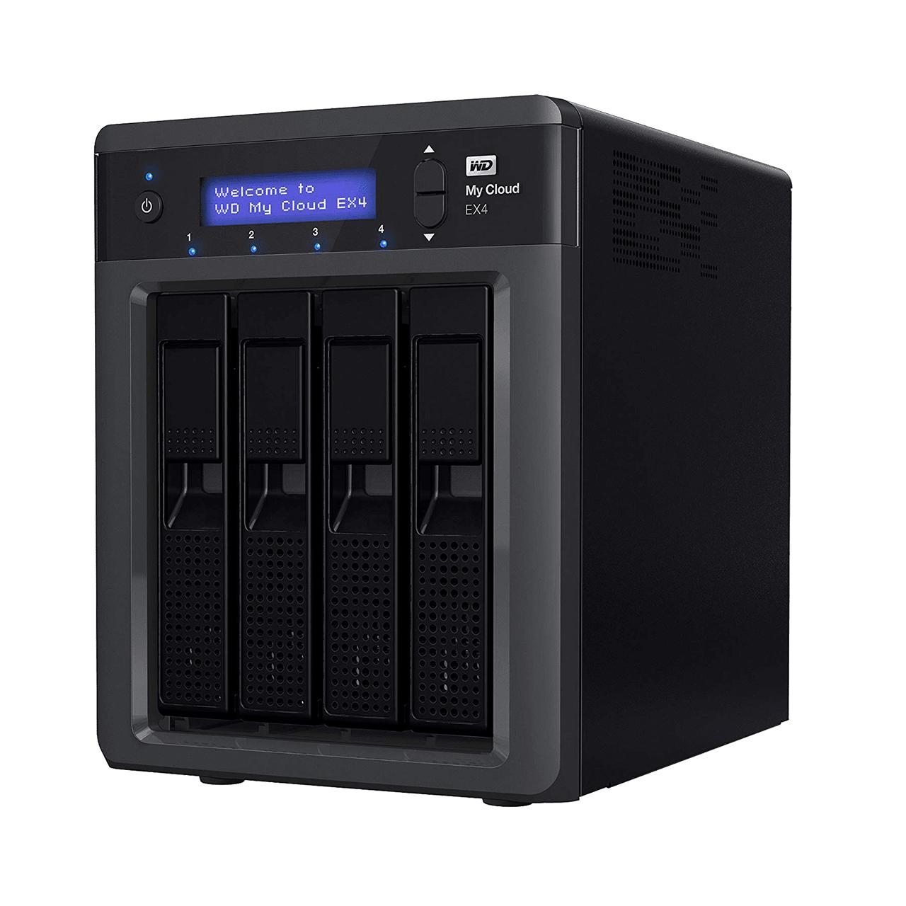 20TB My Cloud Expert Series EX42 (Recertified) NAS £261 @ Western digital