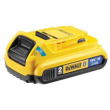 Dewalt Bluetooth 2.0ah Battery £20.70 (£5 Delivery) @ Toolstore UK