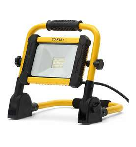 STANLEYSXLS31335E 20W Folding LED Worklight, 1500lm, 6000K, IP65 £17.40 (Free Delivery) at CPC Farnell