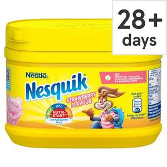 Nesquik strawberry milkshake powder 300g £1 @ iceland