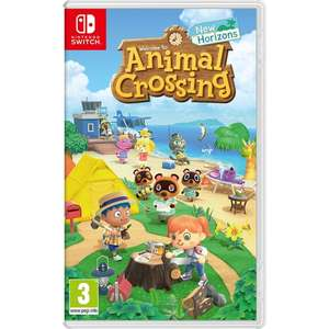 Animal Crossing: New Horizons £39.99 @ Smyths - click and collect instore