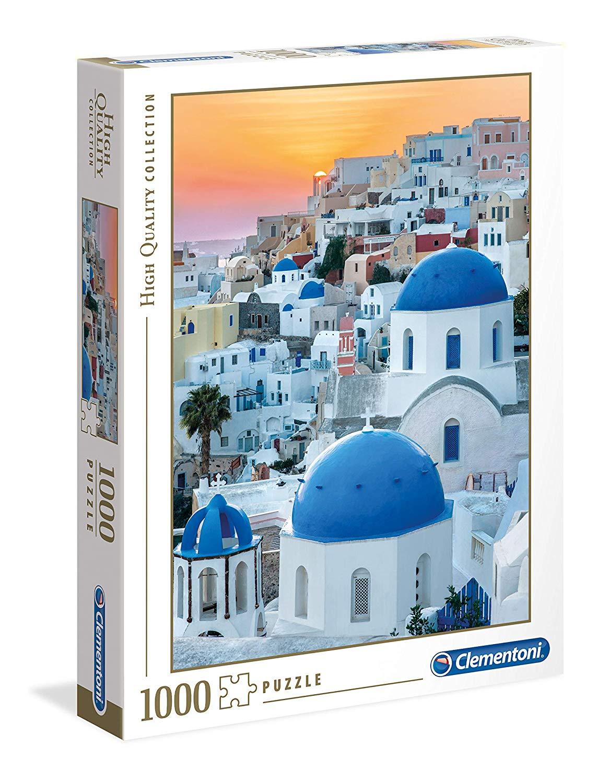 Clementoni 39480 Santorini - High Quality Collection 1000 Piece Puzzle £3.03 Prime / £7.52 Non-Prime at Amazon