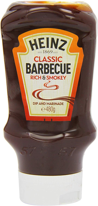 Heinz Classic Barbecue Sauce, 480 g (Pack of 10) £8.16 Del Prime/+£4.99 Del Non Prime