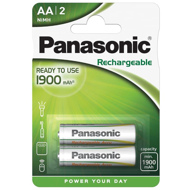 Panasonic Rechargeable AA / AAA Batteries 2pk & B&M Stores £3 (Whitley Bay)