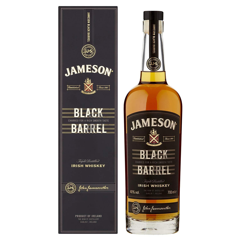 Jameson Black Barrel Irish Whiskey, 70 cl - £25 @ Amazon