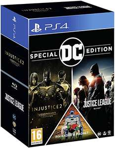 DC Franchise Pack (Injustice 2 Legendary Edition & Justice League Blu Ray & Pin badge & magnet) £19.85 (PS4) Delivered @ Simply Games