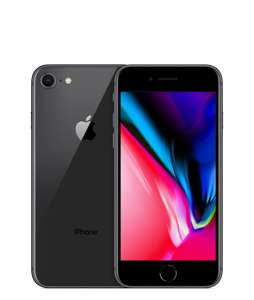 iPhone 8 on EE with 64GB Storage 16GB data / unlimited texts/calls £35 + £28 / 24 months £707 @ Mobiles.co.uk