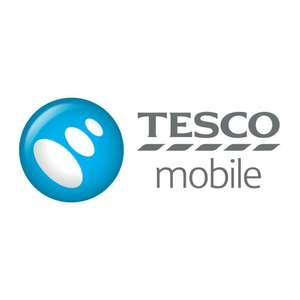 Tesco Mobile 12GB 5000 mins 5000 texts £12 per month for 12 months - Total £144 (+ £100 Topcashback)