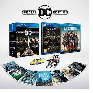 DC Franchise Pack (Injustice 2 Legendary Edition & Justice League Blu Ray & Pin badge & magnet) £17.99 delivered @ Boss Deals / Ebay