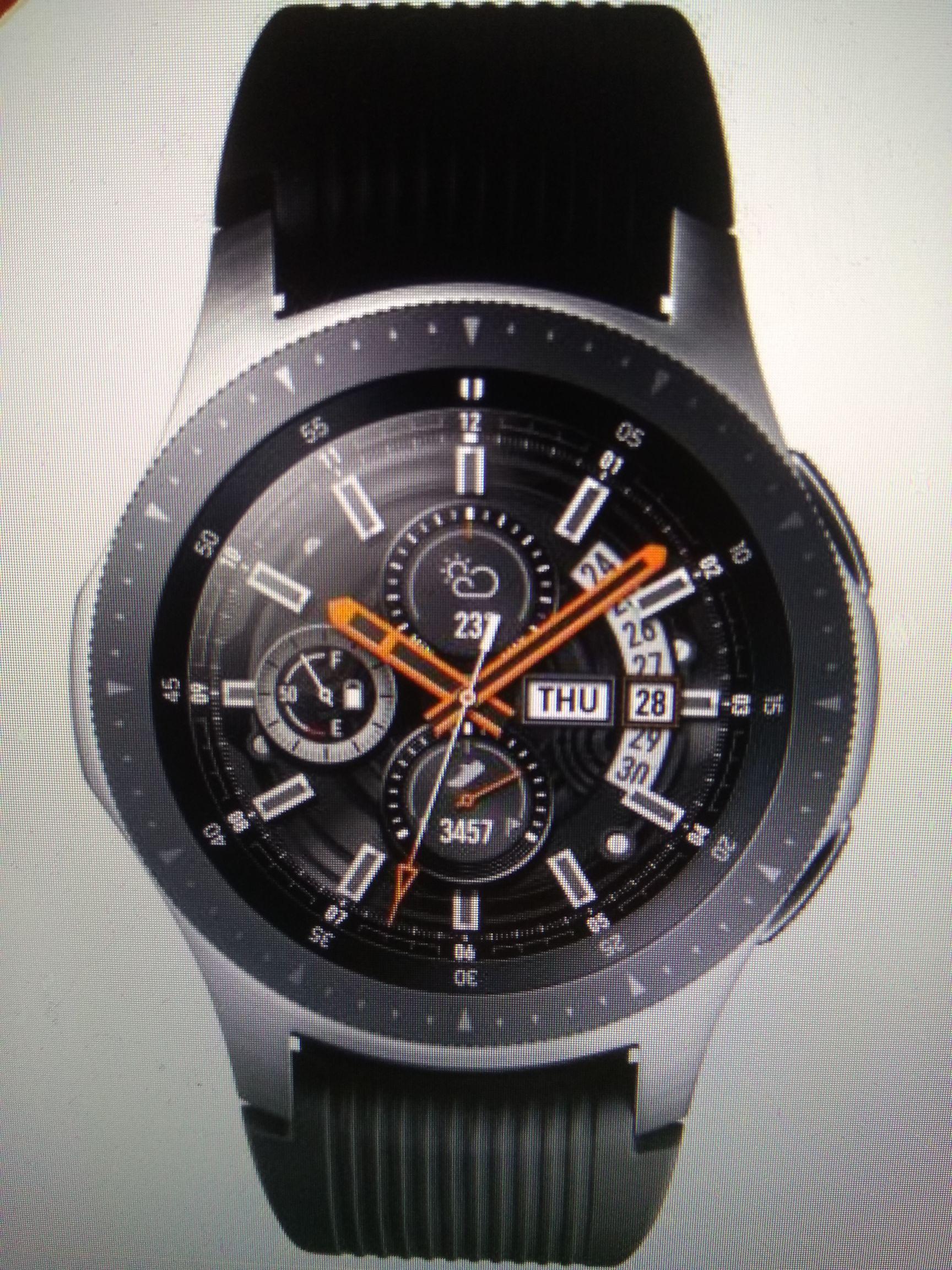 Samsung Galaxy 46mm 4GB Bluetooth Smart Watch - Silver £129.99 at Argos eBay