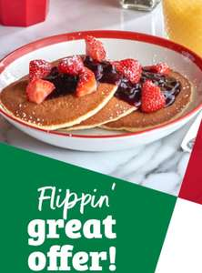 50% off pancakes @ Frankie and Benny's tomorrow (all day today 25th February 2020)